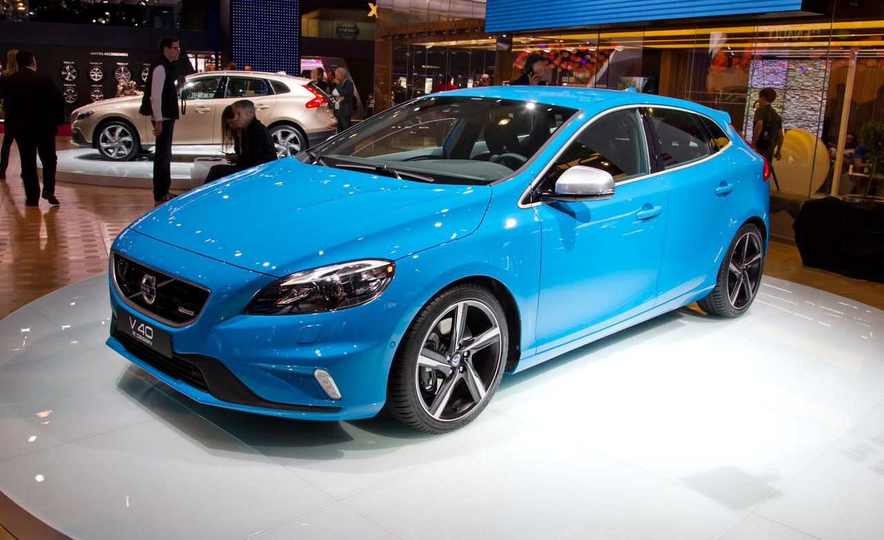 volvo v40 r design 2013 car review showcar. Black Bedroom Furniture Sets. Home Design Ideas