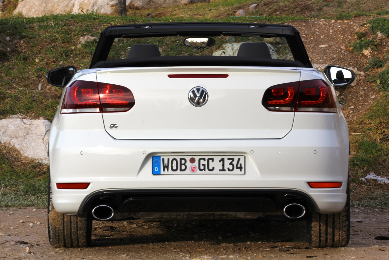 2013 volkswagen golf r cabriolet showcar. Black Bedroom Furniture Sets. Home Design Ideas